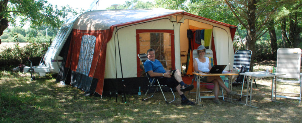 Emplacement camping vensac