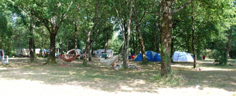 Emplacements pour tentes à vensac