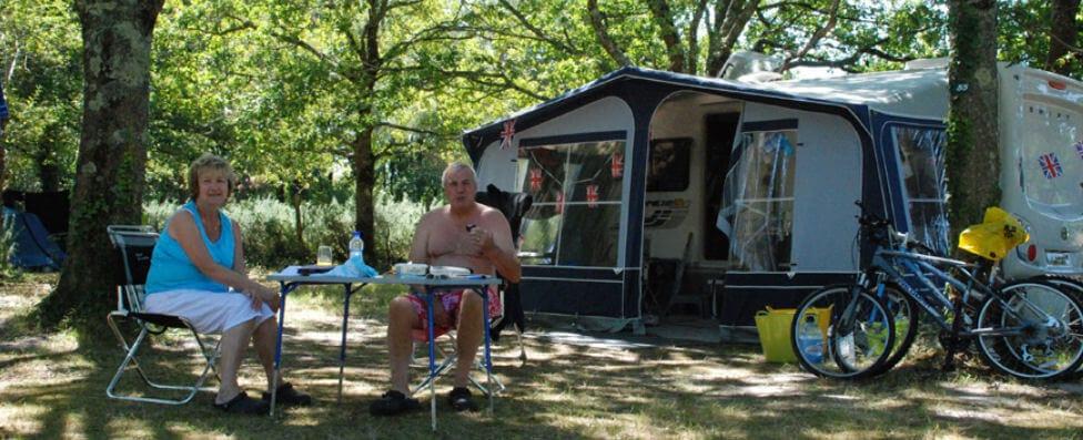 Emplacement camping en gironde