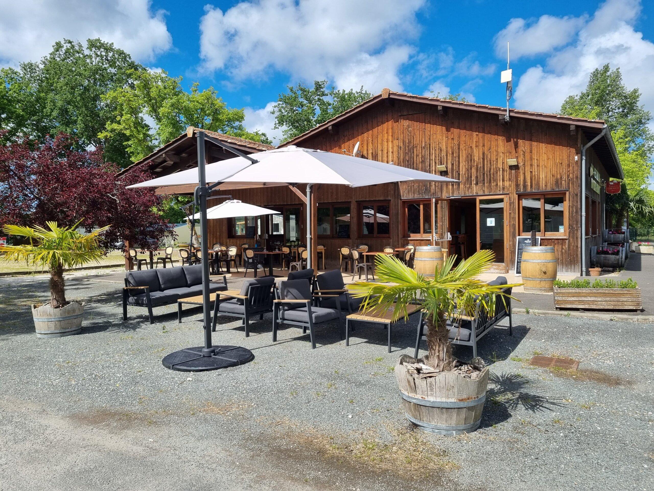 restaurant vensac camping