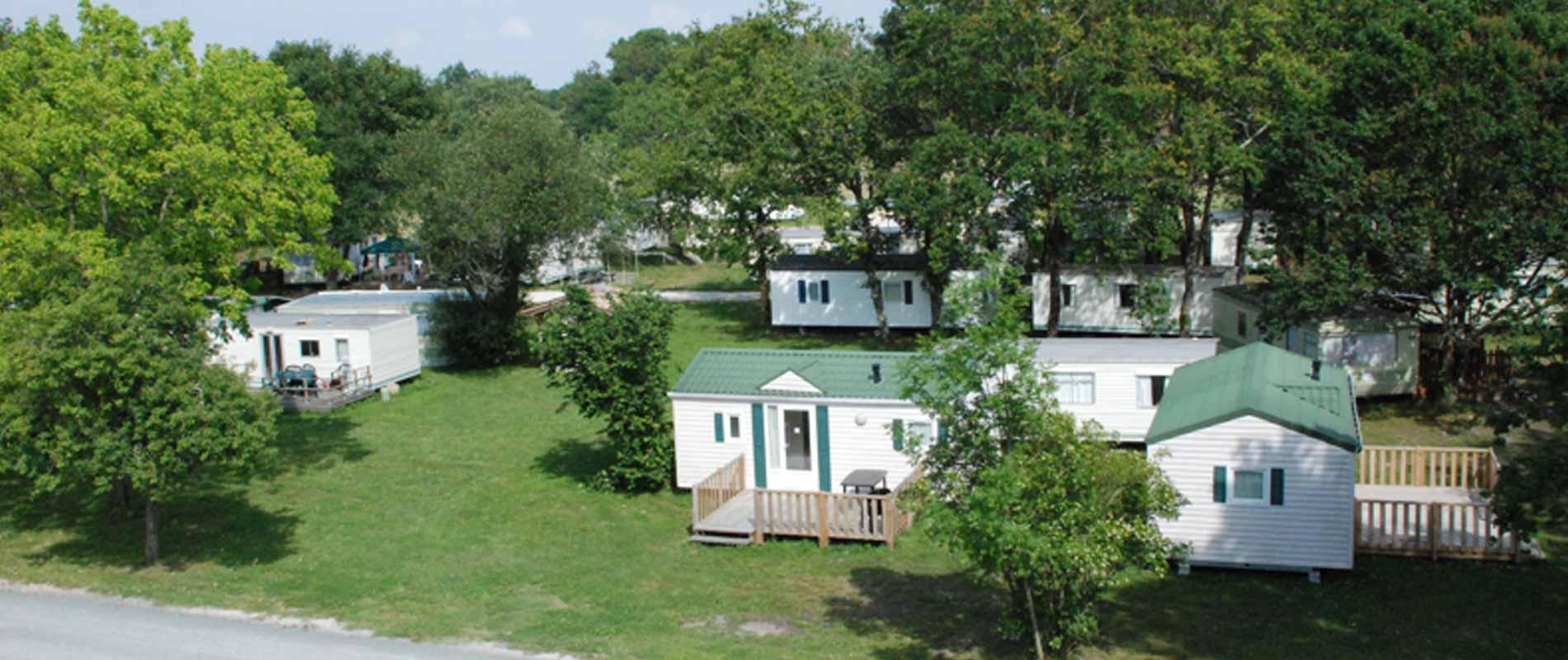 location mobil home vensac