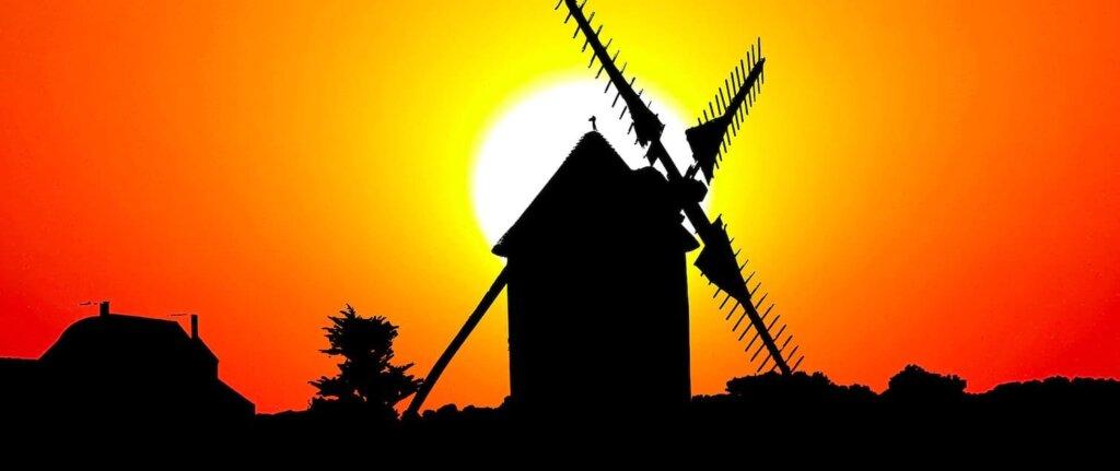 En savoir plus sur Le moulin à vent de Vensac